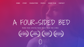Booked and shot a lead in A Four-Sided Bed that premiered at CANNES!