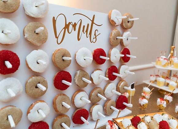 """Holey Moley"" Donut Wall"
