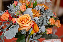 Luxury Floral Arrangements Peach and Green