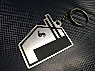 รับทำพวงกุญแจ ผิวเหมือนโลหะ