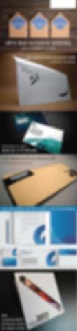 พิมพ์ซองจดหมาย พิมพ์ซองจดหมาย ซองสีน้ำตาล มีซับในเป็นลายใบไม้สีน้ำเงิน ลาย วินเทจ