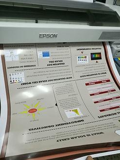 โปสเตองานวิจัย รับพิมพ์โปสเตอร์ รับพิมพ์ พิมเขียว