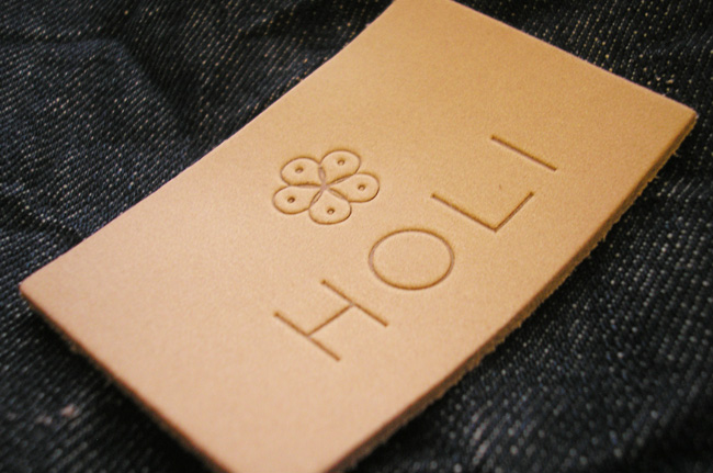 HOLI-Leather-Label