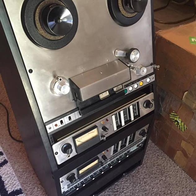 Ampex Tape Machine