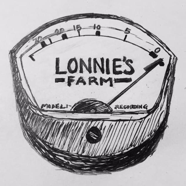 Hand sketch - Lonnie's Farm