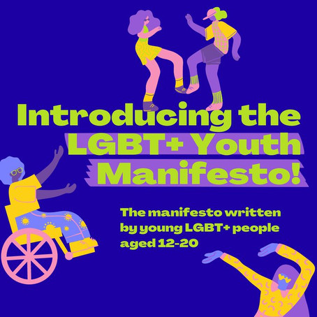 4 powerful points from the LGBT+ Youth Manifesto