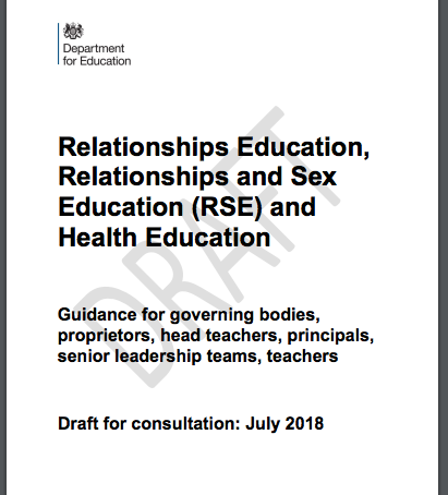 Government consultation on sex education – Outspoken responses