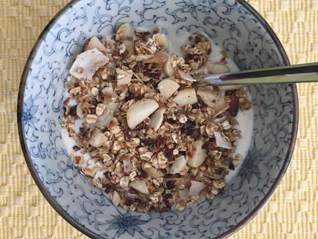 Hawaiian inspired granola