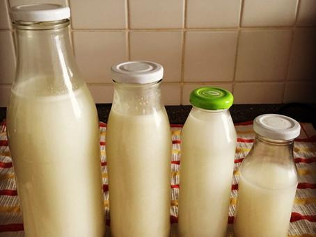 Homemade rice milk