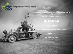 STS Hospitality Service established In Batumi & Adjara Region!