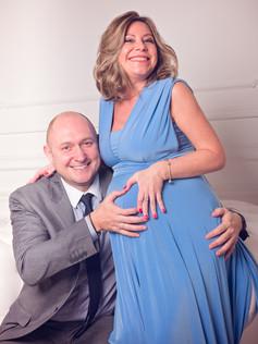 Беременная фотосессия с мужем, Москва