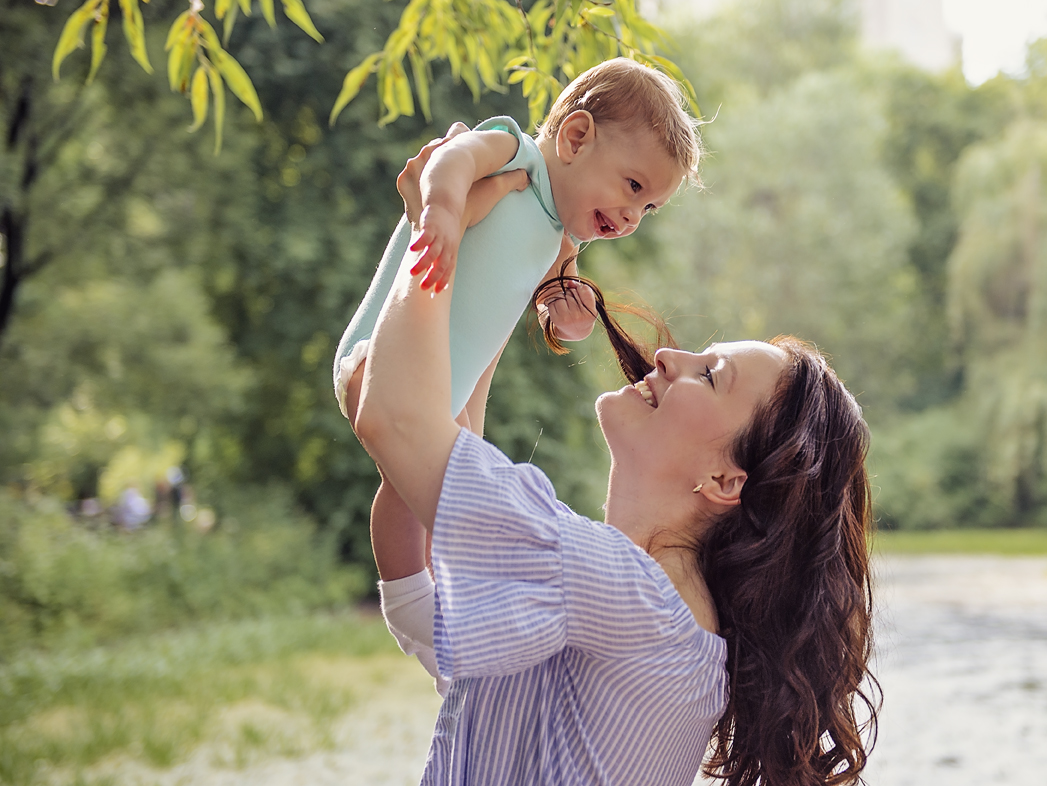 Детские и семейные фотосессии в парк