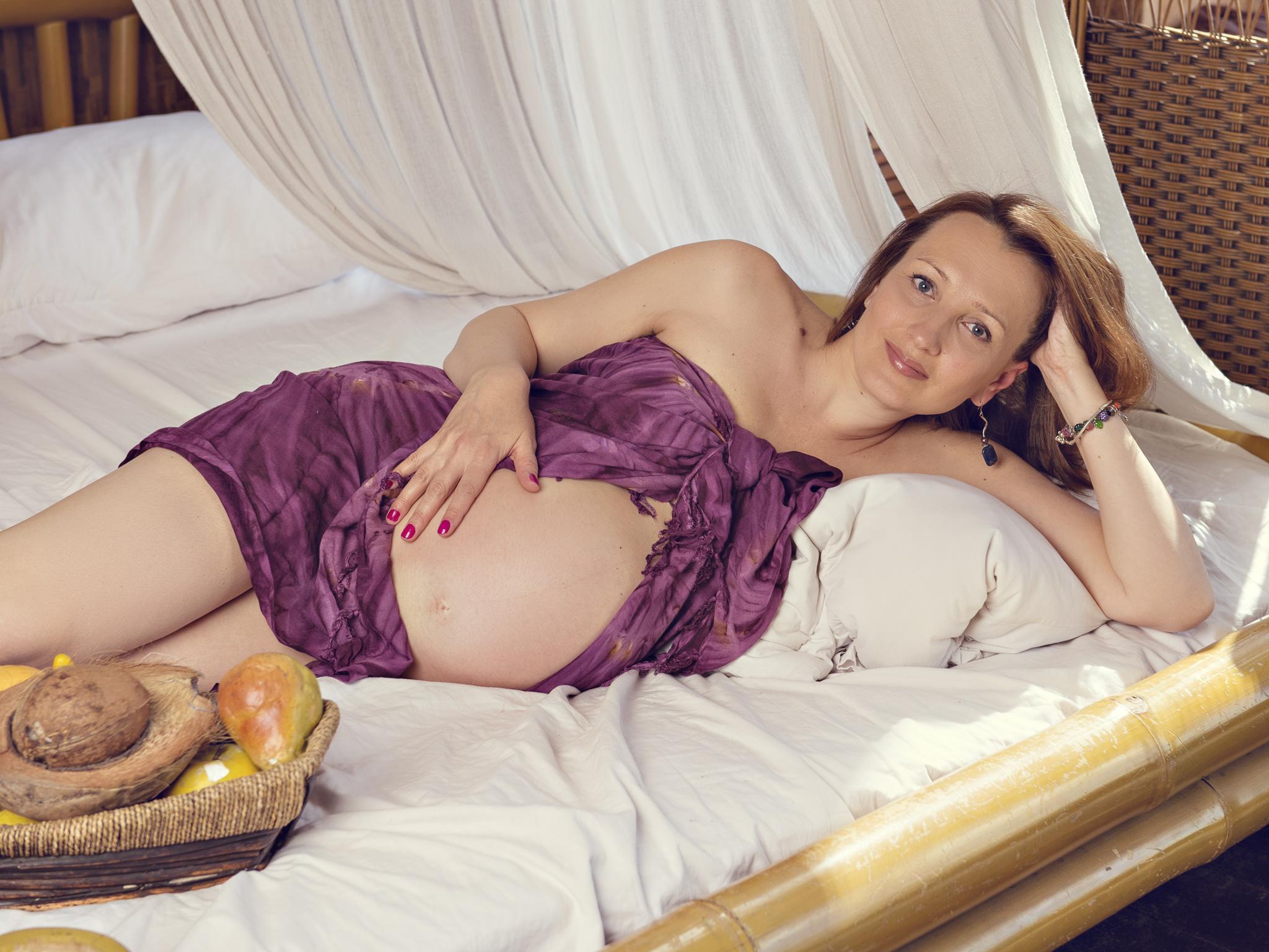 Фотосессия для будущих мам