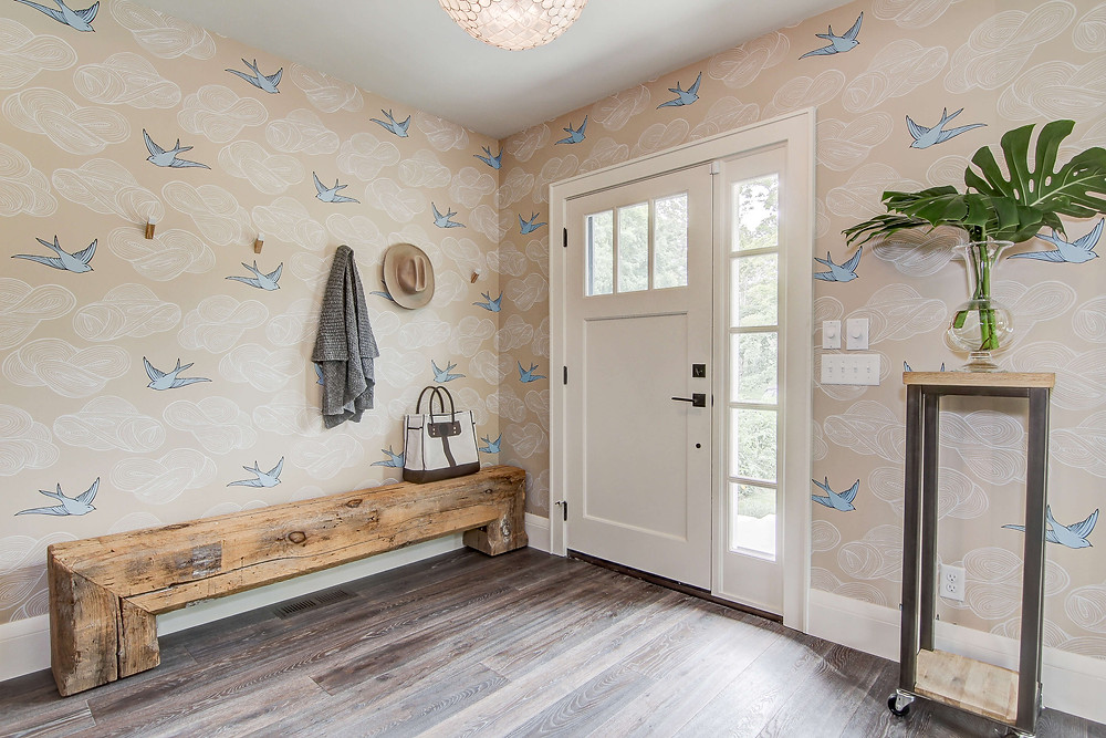 Daydream Wallpaper in Cream by Hygge and West