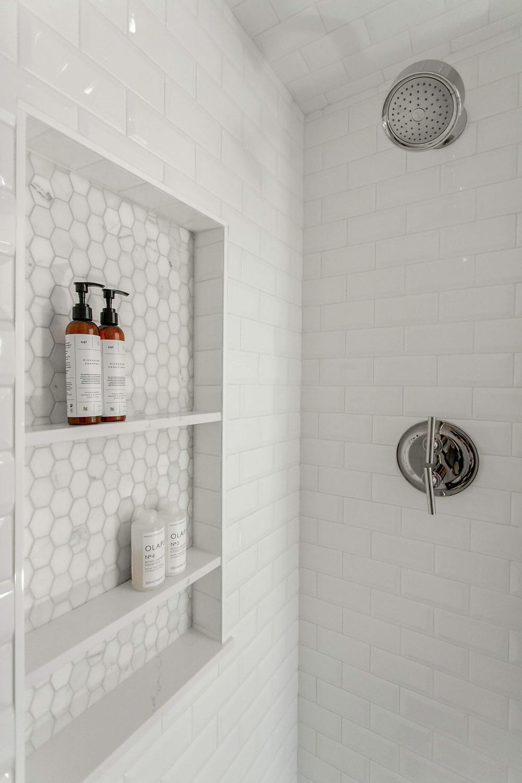 Our favorite shower niche designs.