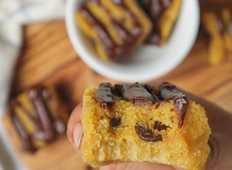 Pumpkin Chocolate Chip Bites
