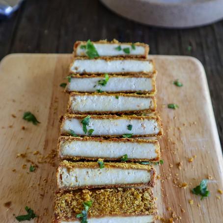 "Crispy ""Breaded"" Tofu"