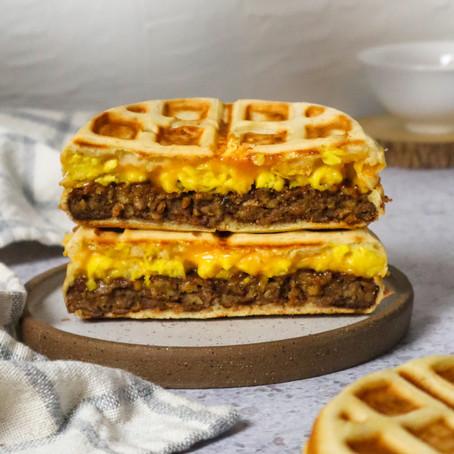 Stuffed Waffles and Waffle Iron Review