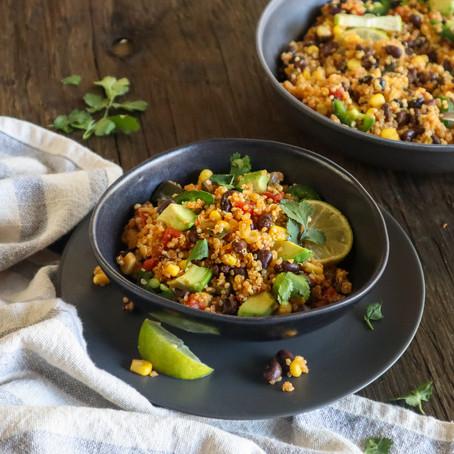 Quinoa Black Bean Bowl