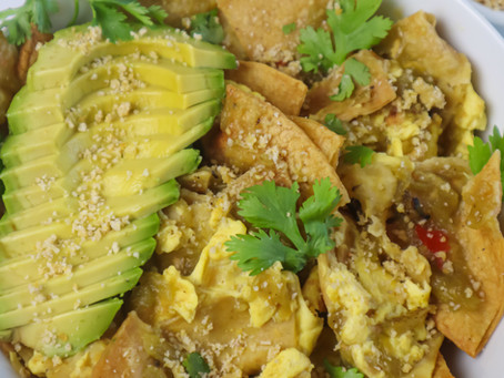 Vegan Chilaquiles
