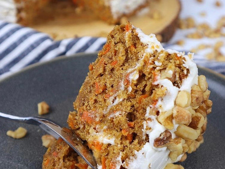 The Perfect Vegan Carrot Cake