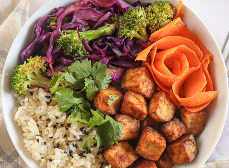 Savory Air-Fried Tofu