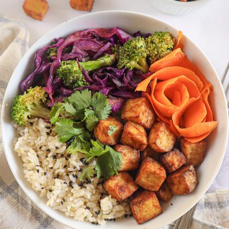 Savory Air-Fried Tofu