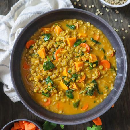 1-Pot Curry Lentil Soup