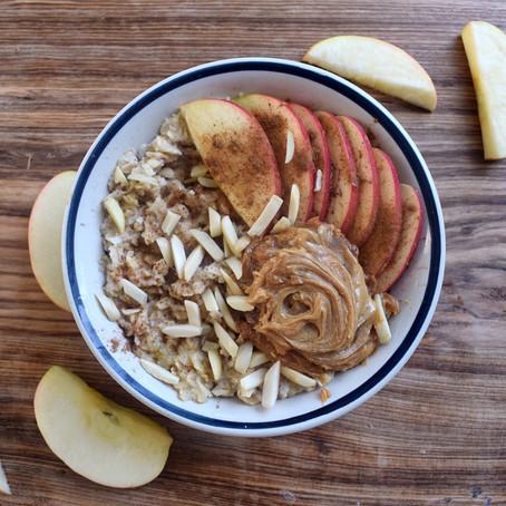 PB Apple Cinnamon Oats
