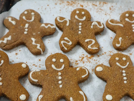 Vegan & Gluten-free Gingerbread Cookies
