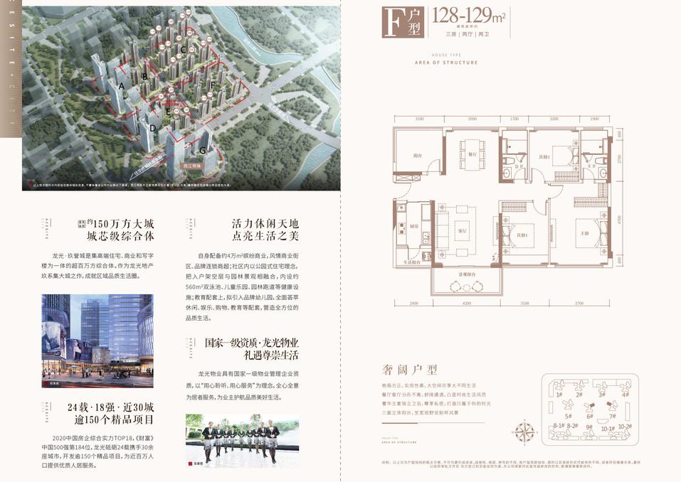 龙光玖誉城F區F戶型128-129m3房2廳2廁.jpg