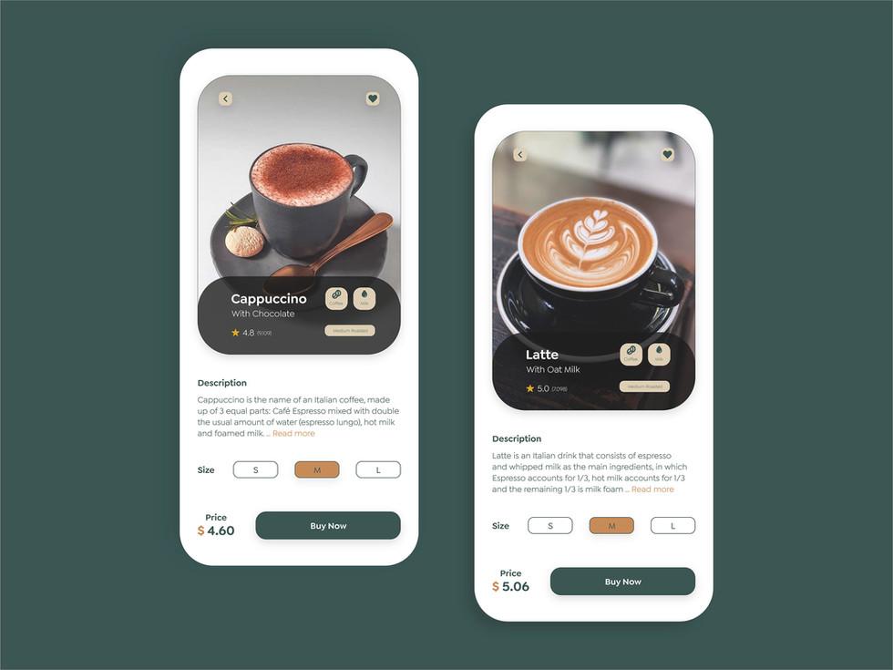 Bean honey coffee shop app6.jpg