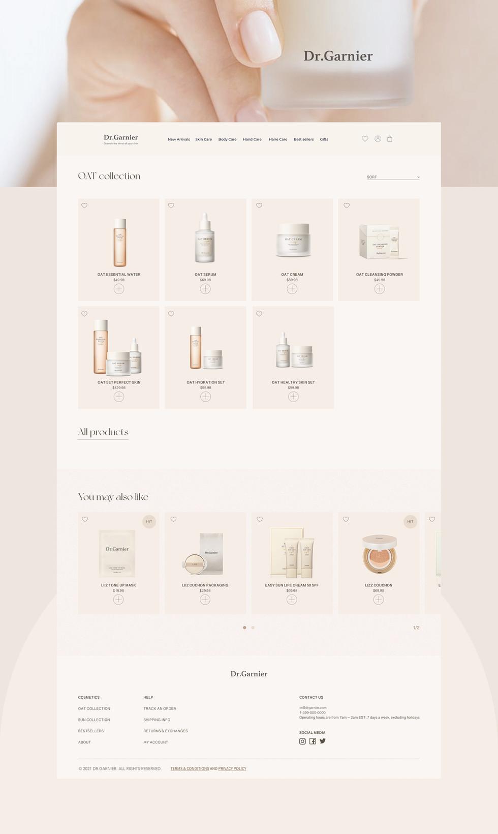 DR. Garnier Cosmetic Website Design3.jpg