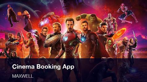 Cinema Booking App Design