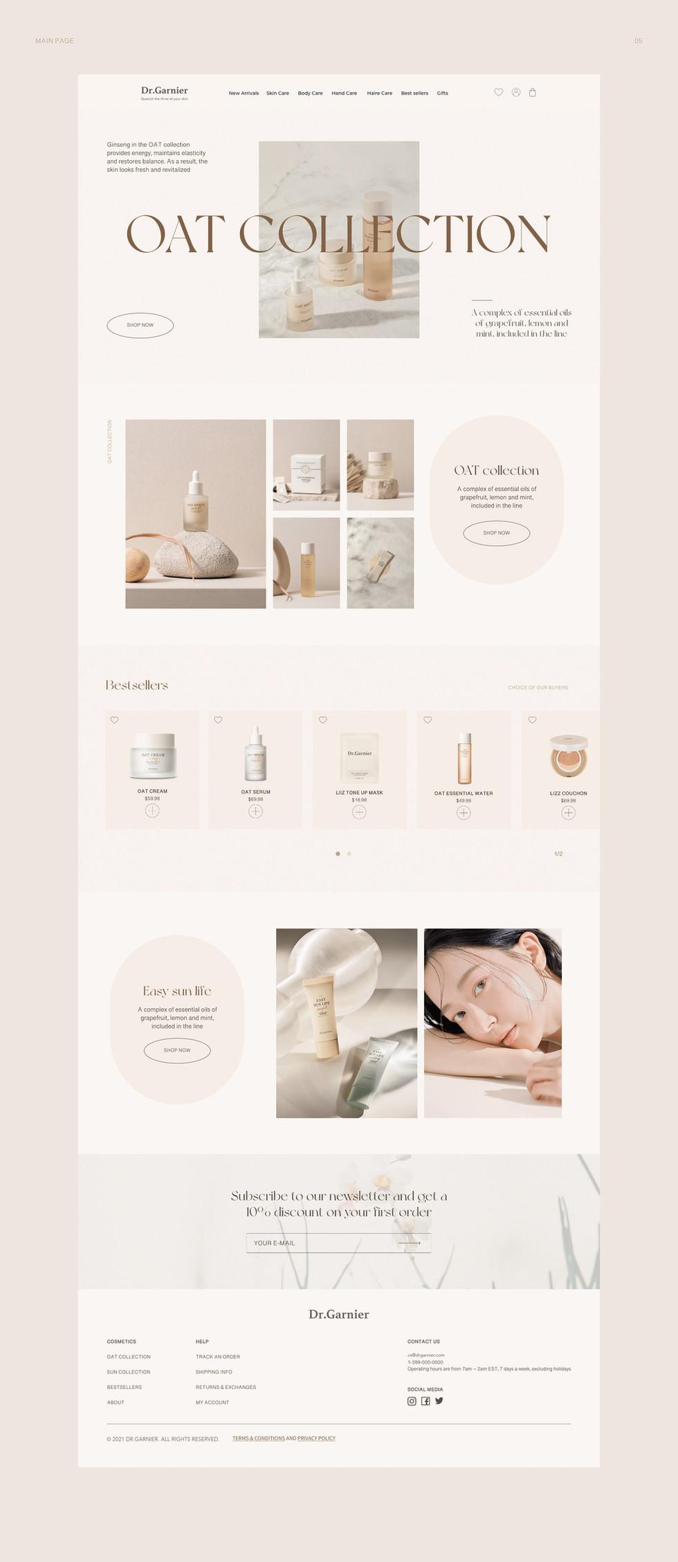 DR. Garnier Cosmetic Website Design5.jpg