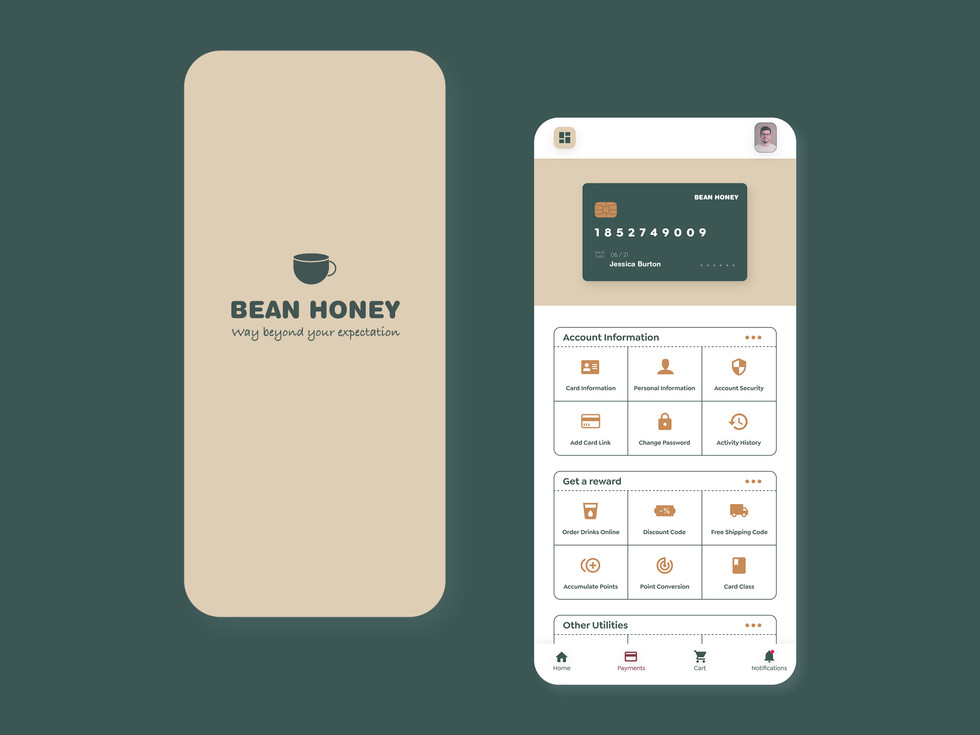 Bean honey coffee shop app7.jpg
