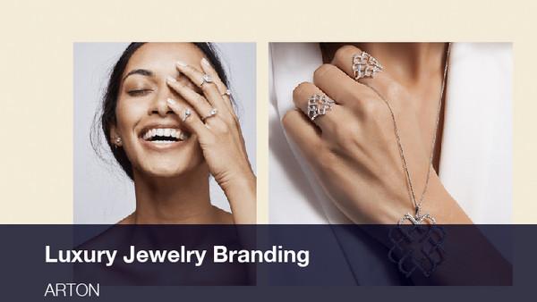 Luxury Jewelry Branding, Web Design