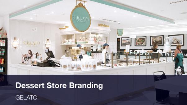 Dessert Store Branding, Packaging and Web Design