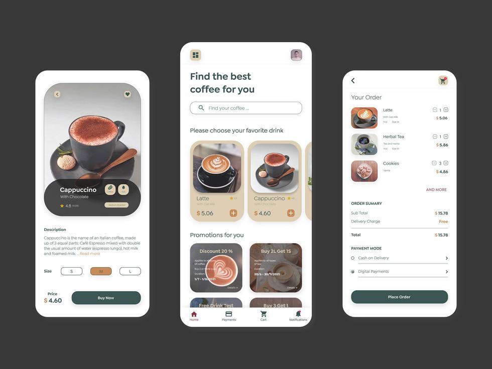 Bean honey coffee shop app4.jpg