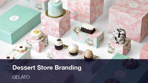 Dessert Store Branding & Packaging Design