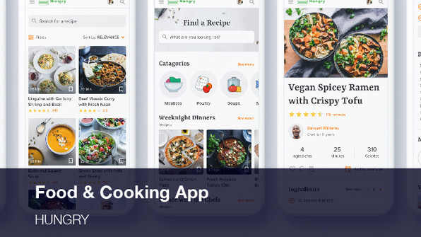 Food & Cooking App