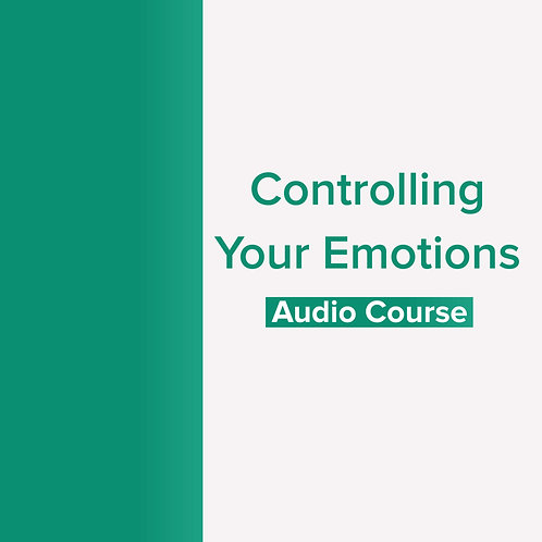 Controlling Your Emotions: Audio Download