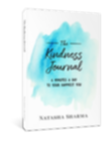 The book The Kindness Journal - 6 Minutes A Day To Your Happiest You