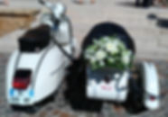Legend Scoot location Vespa mariage évenements wedding vintage logo scooter ancien street marketing events Lyon France Sidecar side car rare