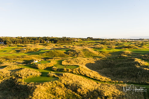 Royal Portrush Golf Club Sunset