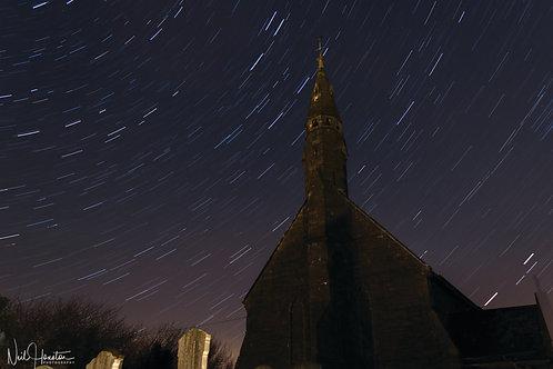 St.Marys Church Star Trail