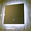 Thumbnail: Зеркало квадратное с LED подсветкой