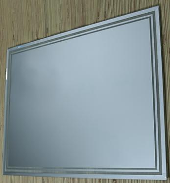 Зеркало прямоугольное Навешивание горизонтальное и вертикальное