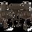 Thumbnail: Стул SHT-S68 черно-коричневый