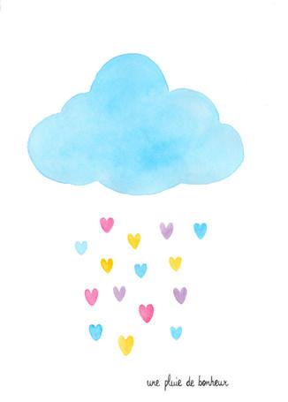 Logo réalisé pour Marion, une pluie de bonheur